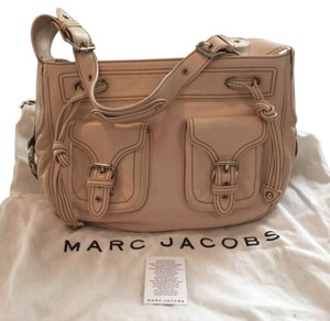 Marc Jacobs Leather Silver Hardware Shoulder Bag