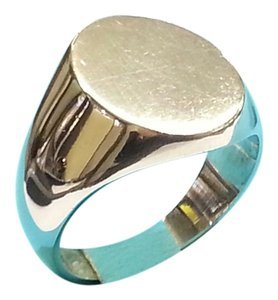 Tiffany & Co. Tiffany & Co. Sterling Silver Oval Signet Ring