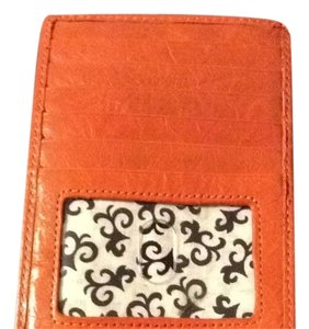 Hobo International Hobo International Orange Mini Wallet