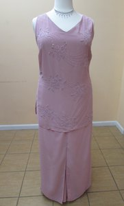 Alfred Angelo Dusty Rose 6425 / Mpant-a Dress