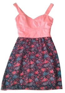 Body Central short dress Pink floral Floral Pink on Tradesy