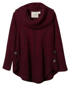 Anthropologie Cabled Boucle Pullover Sweater