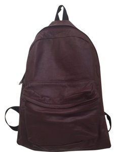 Vintage leather bagback Backpack