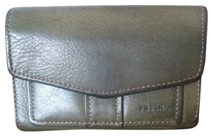Fossil FOSSIL Army Green Leather Wallet