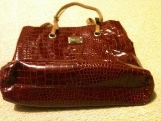 Nine West Tote in Burgandy