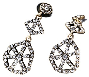 Crystal Circle Statement Earrings