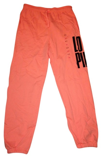 Item - Orange Pink Sweat Lounge Fall Campus Sweatpants Pants Size 6 (S, 28)