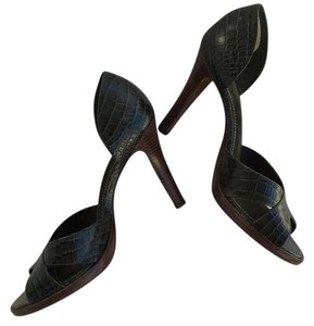 Ralph Lauren Dark Forrest Pumps