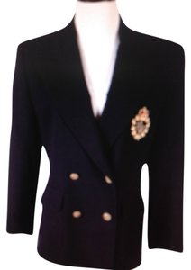 Ralph Lauren Just Like New Ralph Lauren Signature Crown Crest Logo Blazer Jacket