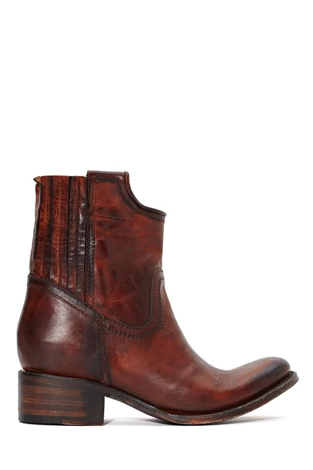 e5a905c61cc FreeBird By Steven Merlot Merlo Leather Ankle New With Box Size 7 Steve  Madden Sale Cheap ...