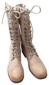 Charlotte Russe Taupe Boots