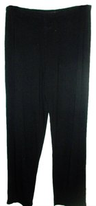 J. Jill Straight Pants Black