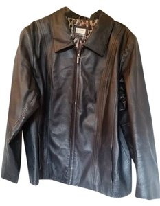 George Black Soot Leather Jacket