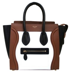 Céline Satchel in Tricolor