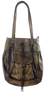 Share Spirit Brand Leather Hobo Bag