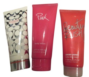 Coach Coach lotion lot Victoria secret 3 set 3.4oz