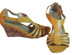 Mossimo Supply Co. Yellow Wedges