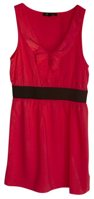 Forever 21 short dress Coral/Black on Tradesy