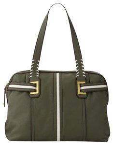 orYANY Natasha Side-stripe Tote in Green