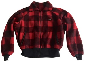 Gerry Weber Fleece Red Plaid Sexy Jacket