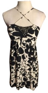 Free People short dress Black/White on Tradesy