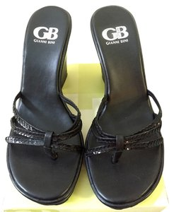 Gianni Bini Wedges Black Sandals