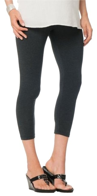 Item - Charcoal Luxe Essentials Secret Fit Belly Crop Maternity Bottoms Size 8 (M, 29)