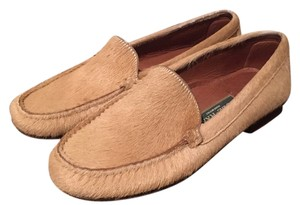 Cole Haan High Fashion Loafer Calf Hair Loafers Women's New Size 6 Classic Loafers New New Loafers Tan Tan Loafers Flats