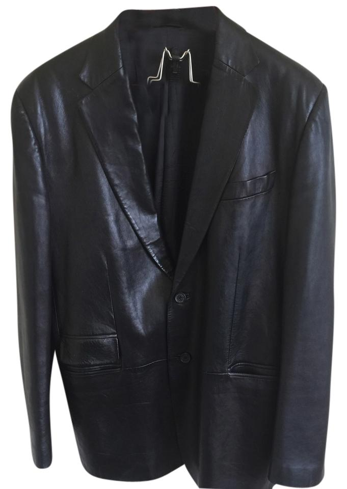 fb23325d3a850 Gucci Black Blazer Jacket Size 18 (XL