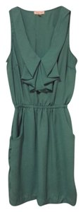 Silence + Noise short dress Sea Green Green Romper Pockets Summer Spring Uo Urban Outfitters Chiffon on Tradesy