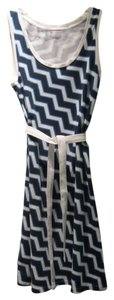 "Tommy Hilfiger short dress Navy/Teal/White I'm 5'5"" Falls Below My Knees on Tradesy"