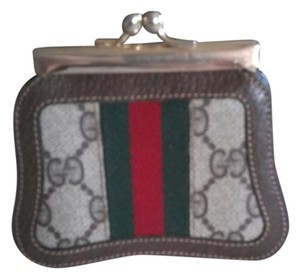 Gucci Rare Vintage gucci Kiss Lock Change Coin Purse Wallet