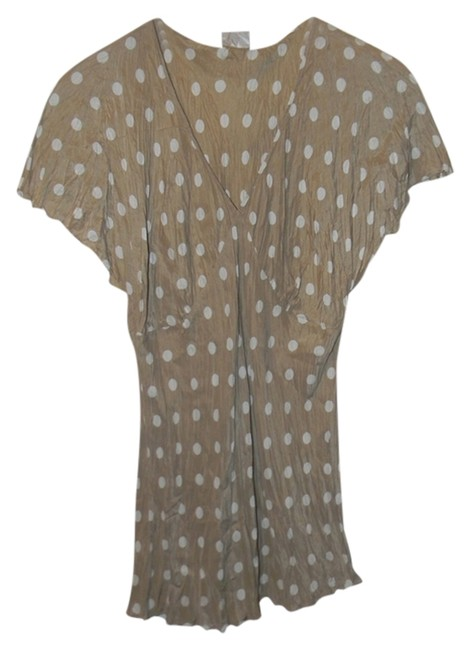 Preload https://img-static.tradesy.com/item/688130/newport-news-taupe-and-cream-blouse-size-12-l-0-0-650-650.jpg