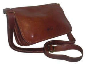 A.D. Firenze Leather Cross Body Bag