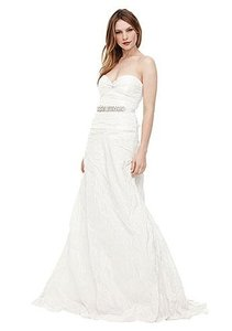 Nicole Miller Mia Taffeta Bridal Gown Size 0 $1600 Hg0013 Wedding Dress