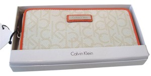 Calvin Klein Calvin Klein Monogram Zip Around Wallet