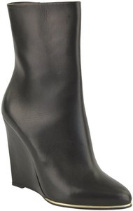 Givenchy Brand New Designer Fall Wedge Heel Ankle Black Boots