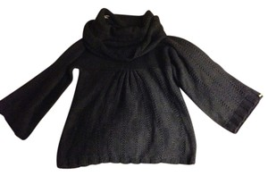 deux lux Vintage Gray Baby Doll Sweater