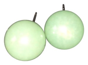 Stunning Round Jade Earrings