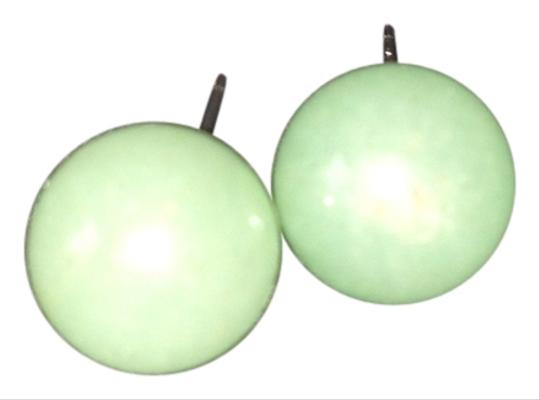 Other Stunning Round Jade Earrings
