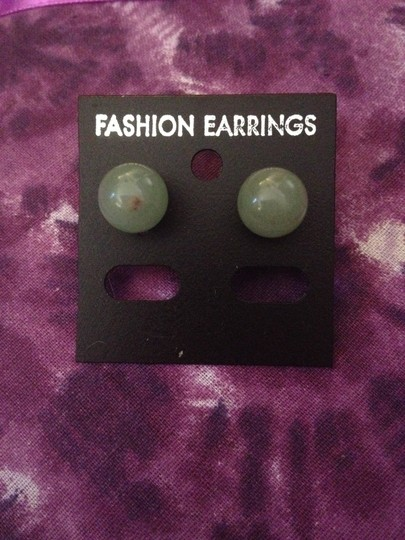 Pick Your Color Beautiful Pink, Purple, Jade, and Turquoise Round Earrings