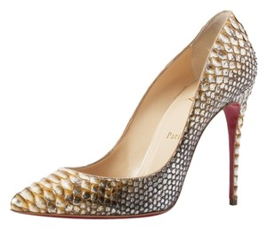 Christian Louboutin Metallic Pumps
