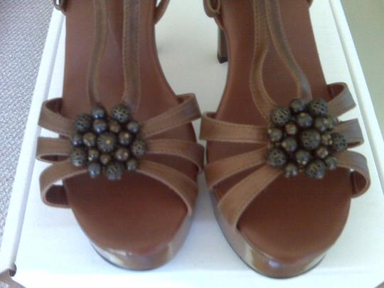 Carmen Steffens Brown Platforms