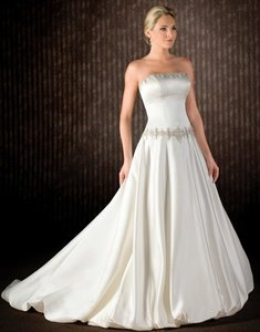 Emerald Couturiers Beaded Bridal Gown #9123 Wedding Dress