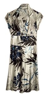 White, Blue and Black Maxi Dress by Speechless