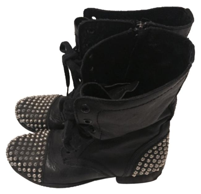 Item - Black with Silver Studs 326805 Boots/Booties Size US 7 Regular (M, B)