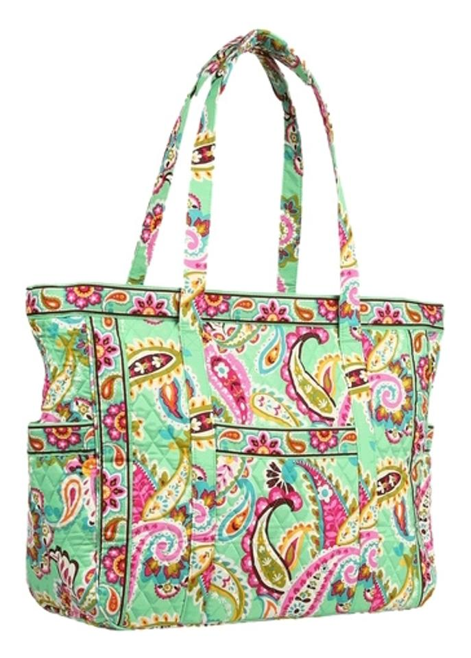 Vera Bradley Tote Get Carried Away Tote Tutti Fruiti Travel Bag Image 0 a9e6fda2bf949