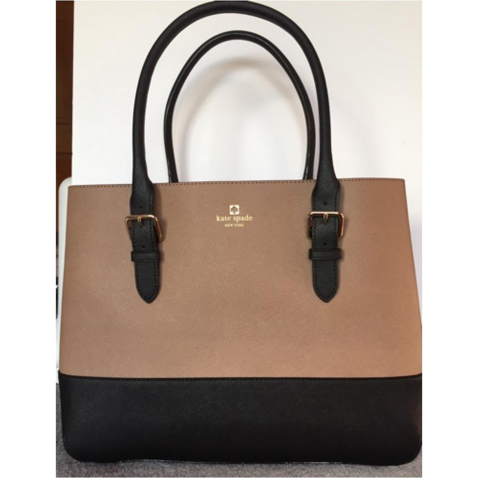 Kate Spade Cove Street Colorblock Brown And Black 33% Off ...