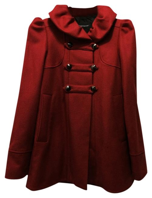 Preload https://item3.tradesy.com/images/french-connection-red-pea-coat-size-0-xs-688547-0-0.jpg?width=400&height=650