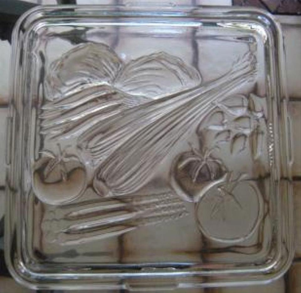 Vintage Glass Tray 85